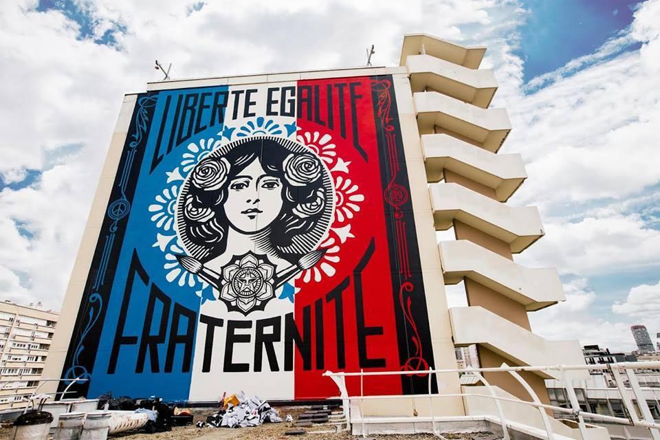 """Παρίσι και Street Art, ο απόλυτος συνδυασμός! «Boulevard Paris 13» στο ανοιχτό """"μουσείο"""" του 13ου διαμερίσματος ."""