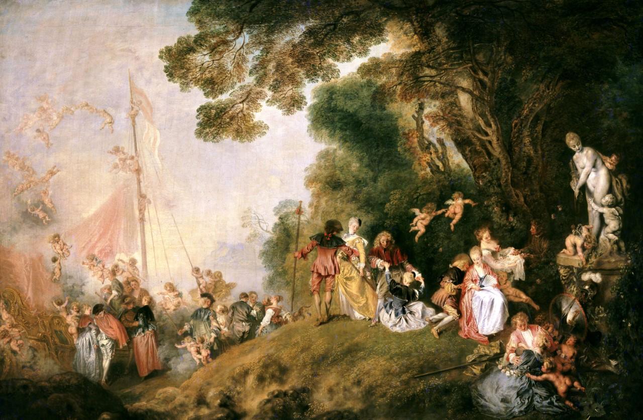 J. A. Watteau, 335 χρόνια από τη γέννησή του.